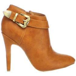 Women's Beston Gabriella-02 Tan Faux Leather