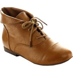 Women's Beston Staci-03 Tan Faux Leather