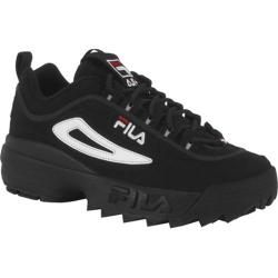 Children's Fila Disruptor II Black/White/Vintage Red