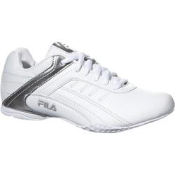 Women's Fila Elleray 5 White/White/Metallic Silver