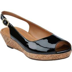 Women's Clarks Orlena Currant Black Patent Leather