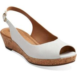 Women's Clarks Orlena Currant White Leather