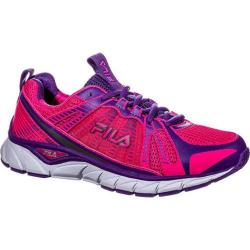 Women's Fila Threshold Pink Glo/Electric Purple/White