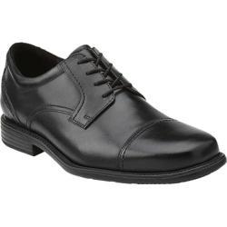 Men's Clarks Quid Fargus Black Leather