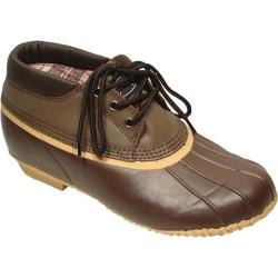 Men's Superior Boot Co. 3-Eye Duck Brown