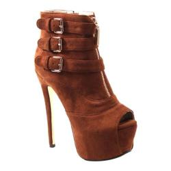 Women's Luichiny Hi N Low Whiskey Imi Suede