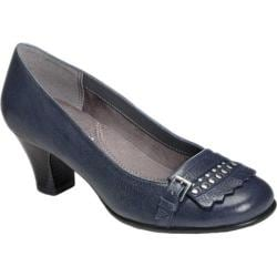 Women's Aerosoles Marionette Navy Leather
