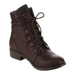 Women's Beston Paloma-01 Brown Faux Leather