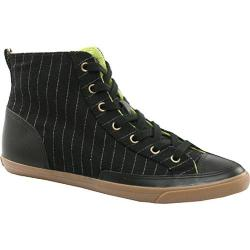 Men's Burnetie High Top Vintage Black Stripe