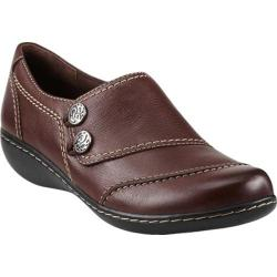 Women's Clarks Ashland Alpine Mid Brown Leather