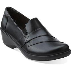 Women's Clarks Esha Marigold Black Leather