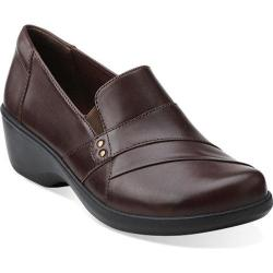 Women's Clarks Esha Marigold Brown Leather