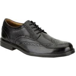 Men's Clarks Gabson Limit Black Leather