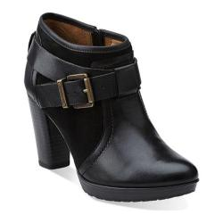 Women's Clarks Lida Dallas Black Leather