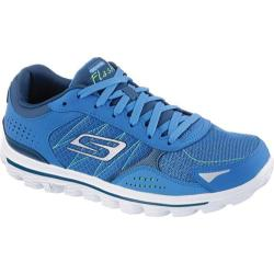 Men's Skechers GOwalk 2 Flash Blue/Lime