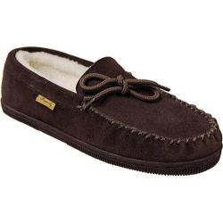 Men's Brumby Australia Moccasin Sheepskin Slippers Brown