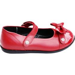 Girls' Bumbums & Baubles Lily Mary Jane Apple Leather/Patent Leather