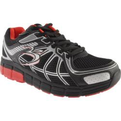 Men's Gravity Defyer Super Walk Black/Red Mesh