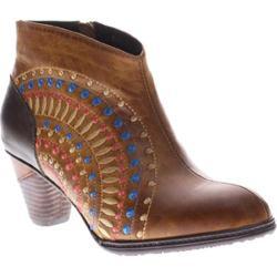 Women's L'Artiste by Spring Step Rhapsody Camel Leather