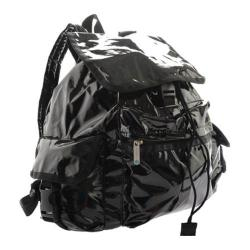 Women's LeSportsac Voyager Backpack Black Patent