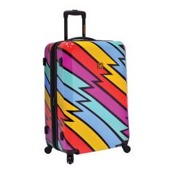 Loudmouth Luggage Captain Thunderbolt 29in Expandable Spinner Multi Color