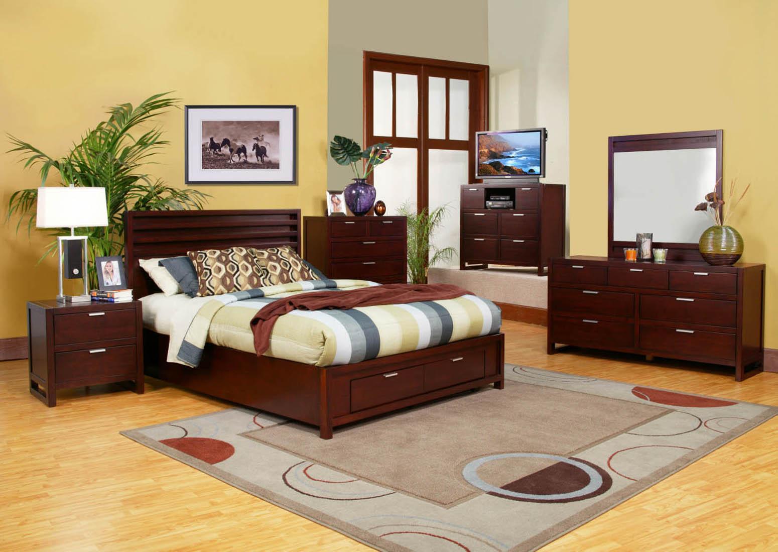 American Lifestyle 6-piece Camarillo Storage Bedroom Set