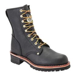 Men's Georgia Boot G83 8in Safety Toe Logger Black Oil Tanned Leather
