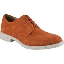 Men's Marc New York by Andrew Marc Carmine Burnt Orange/White Suede