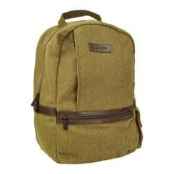 Men's Marc New York by Andrew Marc Essex Waxed Twill Backpack Khaki