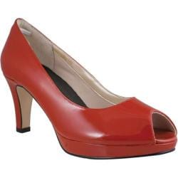 Women's Rose Petals by Walking Cradles Prom Red Patent Leather