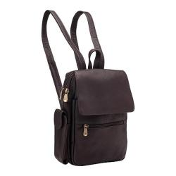 Women's LeDonne Sapelli Backpack LD-7051 Cafe