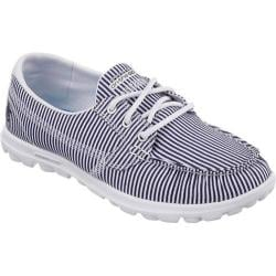 Women's Skechers On the GO Spinnaker Navy/White