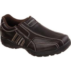 Boys' Skechers Relaxed Fit Grambler Wallace Dark Brown