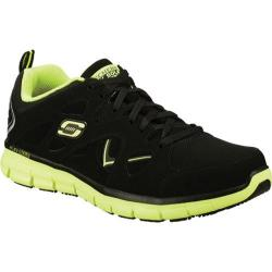 Men's Skechers Work Synergy Tal SR Black/Lime