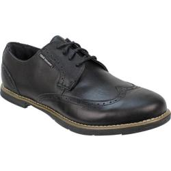Men's TRUE Linkswear TRUE Gent Wingtip Black/Black Leather