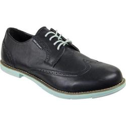 Men's TRUE Linkswear TRUE Gent Wingtip Black/Mint Leather