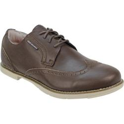 Men's TRUE Linkswear TRUE Gent Wingtip Chocolate/Tan Leather