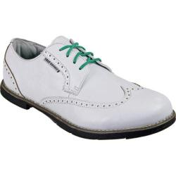 Men's TRUE Linkswear TRUE Gent Wingtip White/Black Leather