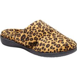 Women's Vionic with Orthaheel Technology Gemma Slipper Tan Leopard