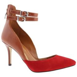 Women's Enzo Angiolini Celton Red/Brown Suede