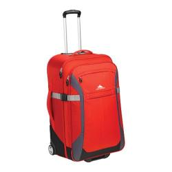 High Sierra Red/Mercury/Black/Ash 30-inch Wheeled Upright Suitcase