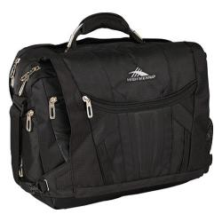 High Sierra TSA Messenger Black