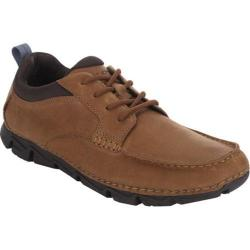 Men's Rockport Rocsports Lite 2 Moc Toe Tan Tumbled Leather