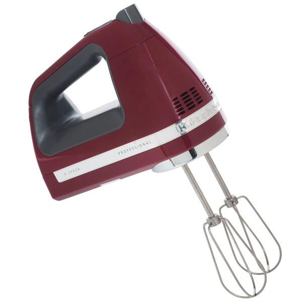 KitchenAid RRKHM9GC Gloss Cinnamon 9-speed Hand Mixer (Refurbished)