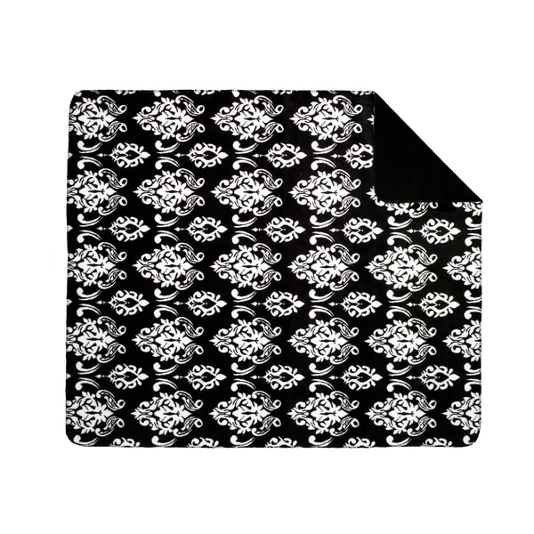 Black Medallion/ Black Throw