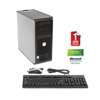 Dell OptiPlex GX620 3.2GHz 2GB 750GB Win 7 MT Computer (Refurbished)
