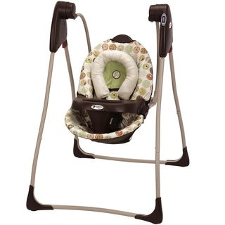 Graco Century Compact Swing in Jungle Boogie