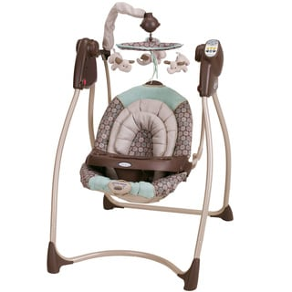 Graco Lovin' Hug Plug-in Infant Swing in Capri
