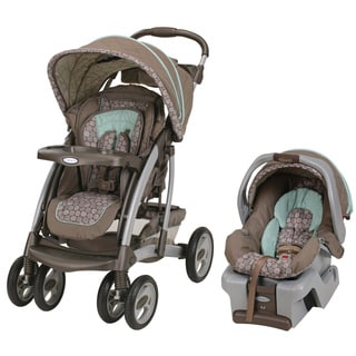 Graco Quattro Tour Reverse Classic Connect Travel System in Capri