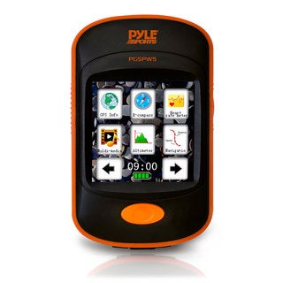 Pyle NAVMP3 GPS Navigation Unit w/ MP3 Player, Pedometer, Speedometer, Altimeter, Barometer, Compass & Weather Forecasting